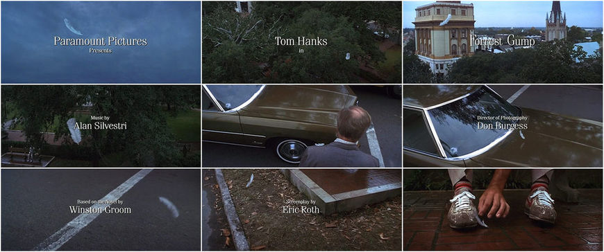 VIDEO: Title Sequence - Forrest Gump