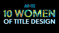 10 Women of Title Design