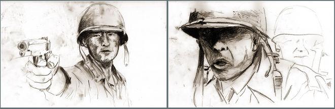 Raw drawings