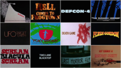 Vigilantes, Psychopaths, and Road Warriors from 3D to 36DD: B-Movie Title Design of the 1970s & 1980s