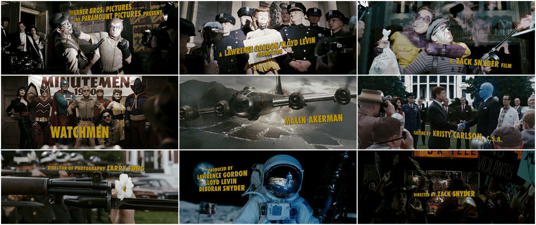 VIDEO: Title Sequence – Watchmen (2009)