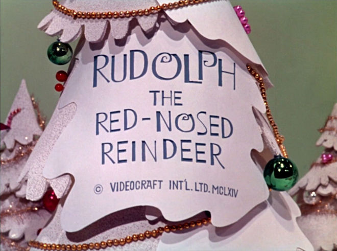 VIDEO: Title Sequence – Rudolph, the Red-Nosed Reindeer (1964)