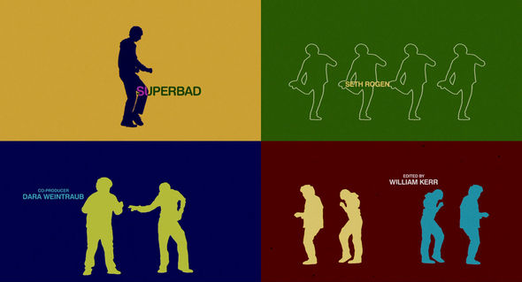 Superbad title frames