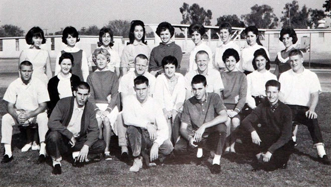 IMAGE: Dan Perri 1962 Yearbook Committee