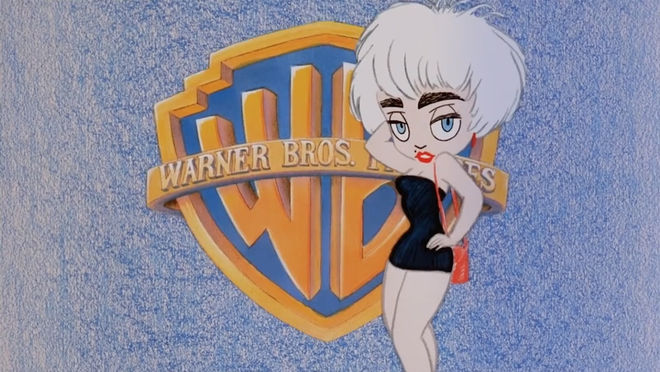 IMAGE: Still – Madonna emerging from WB logo 3