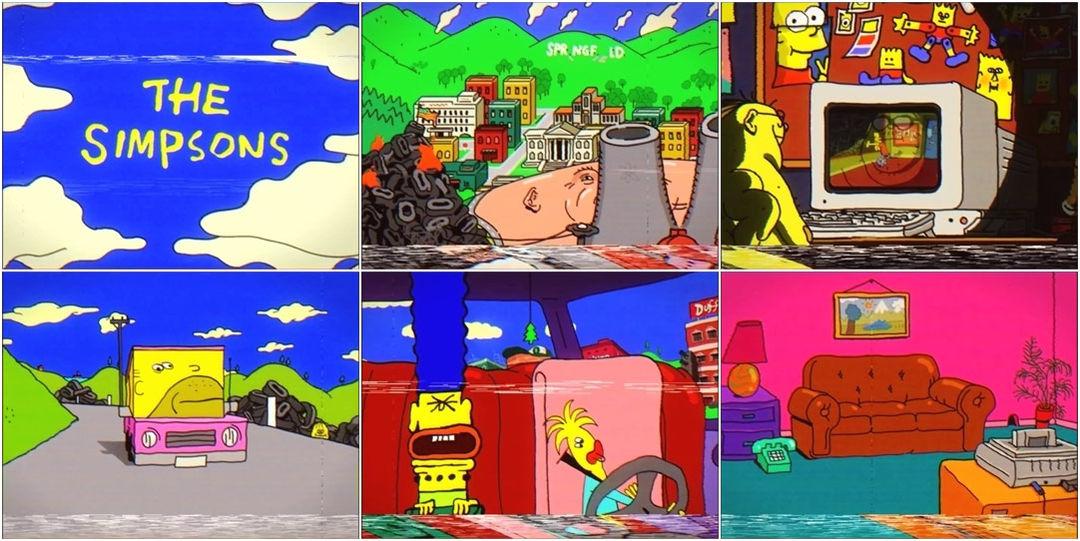 Weird Simpsons VHS