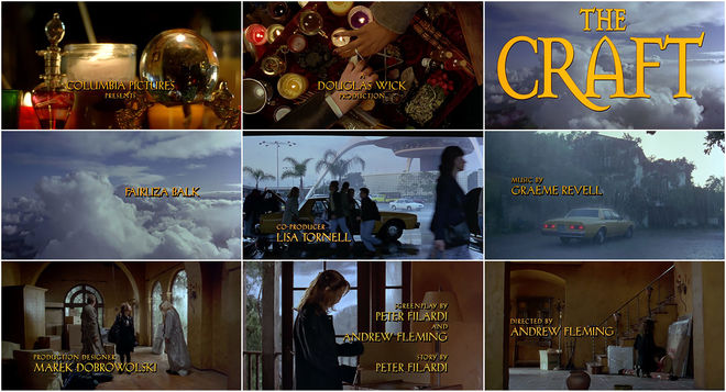 VIDEO: Title Sequence - The Craft