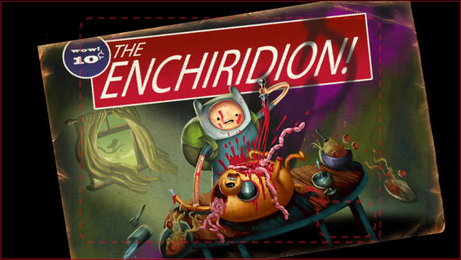 The Enchiridion! alternate title card