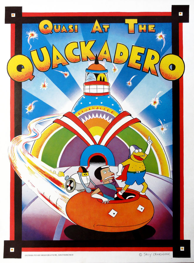 IMAGE: Quasi at the Quackadero poster