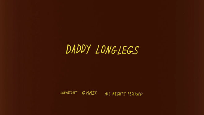 IMAGE: Daddy Longlegs title card