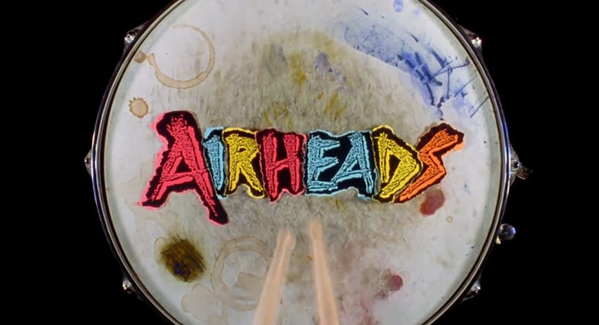 IMAGE: Still - Airheads title card