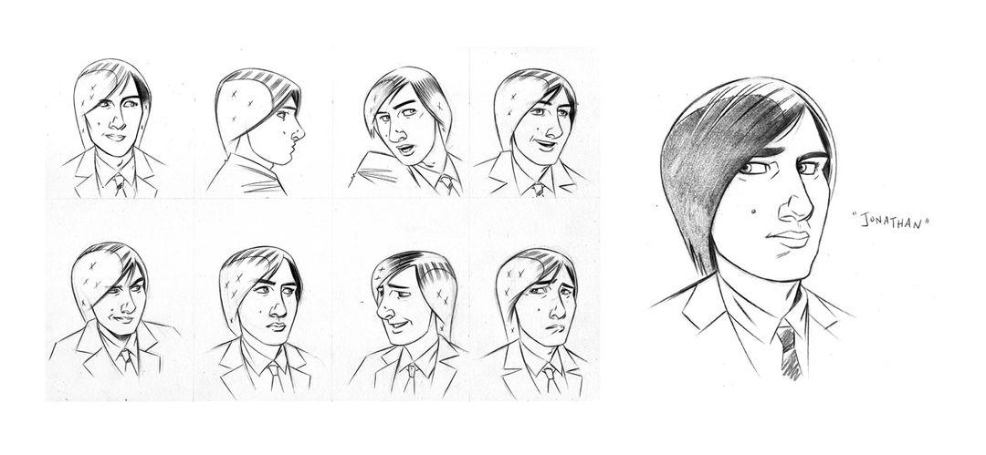 """""""Jonathan"""" character designs"""