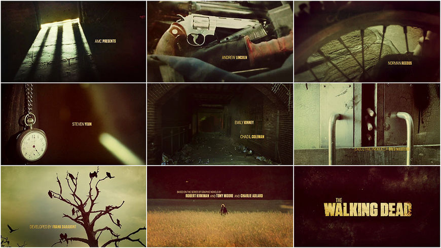 VIDEO: Title Sequence – The Walking Dead (2010) Season 5