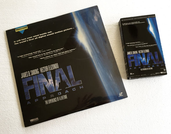 IMAGE: Final Approach laserdisc and VHS tape