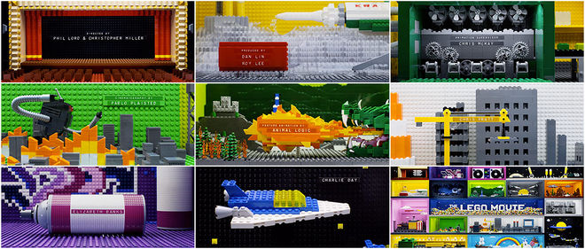The Lego Movie Title Sequence