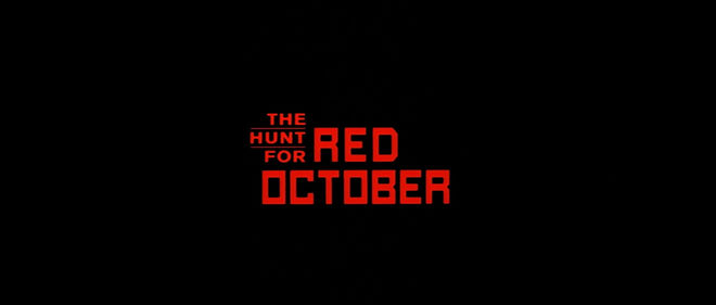 IMAGE: The Hunt for Red October title card