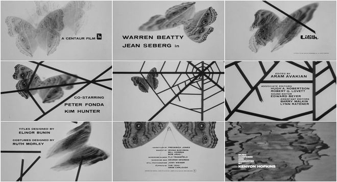 VIDEO: Title Sequence - Lilith (1964)
