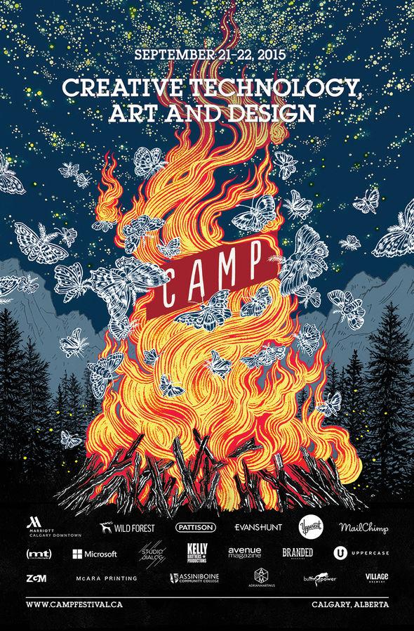 IMAGE: Camp Festival 2015 poster