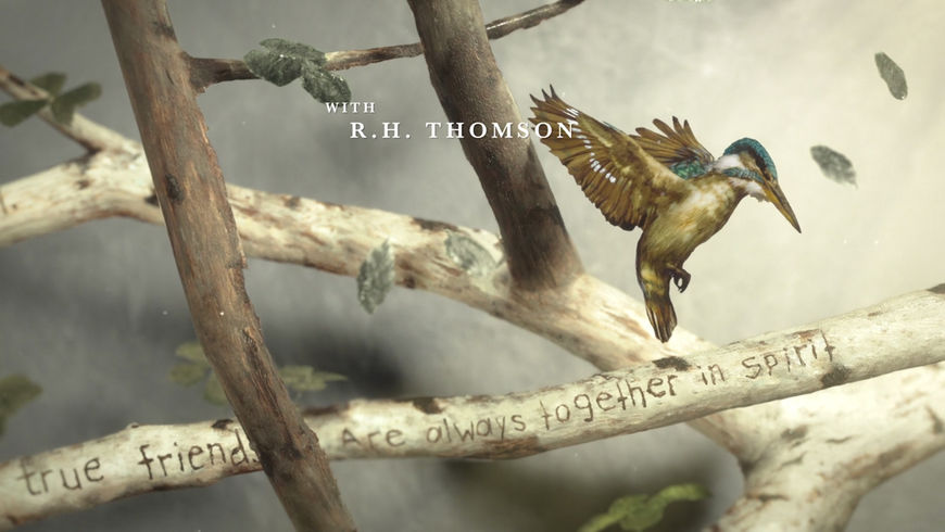 IMAGE: Still - true friends branches hummingbirds