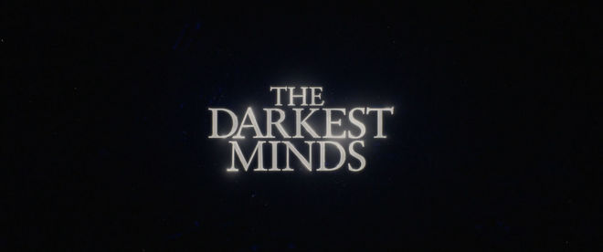 The Darkest Minds (2018) main title card
