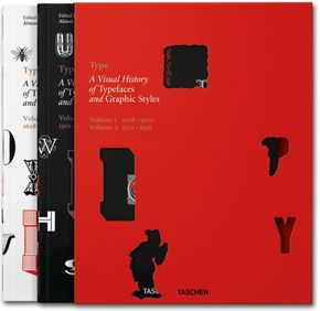 IMAGE: Type. A Visual History book by Taschen