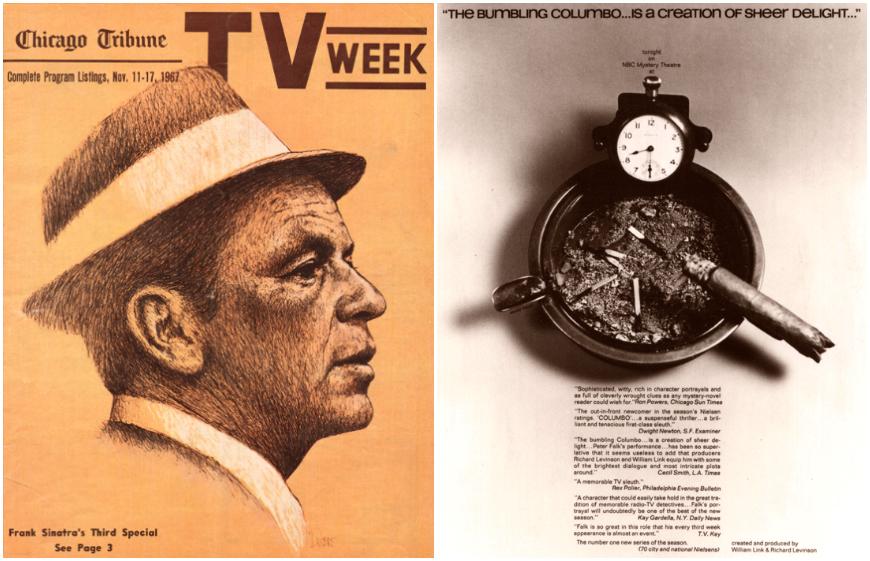 IMAGE: Ads -- Frank Sinatra, Columbo