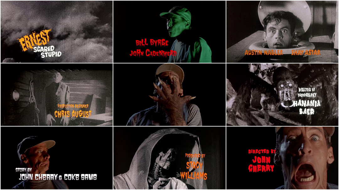 VIDEO: Title Sequence – Ernest Scared Stupid (1991)