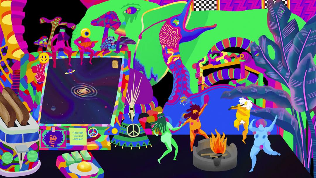 IMAGE: Still - dancing hippies
