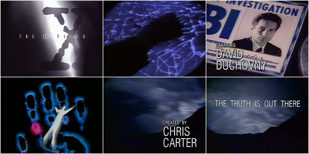 the xfiles 1993 � art of the title