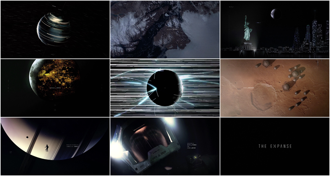 VIDEO: Title Sequence – The Expanse (2015)