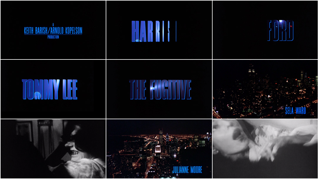 VIDEO: Title Sequence – The Fugitive