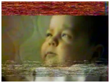 IMAGE: Weird Simpsons VHS Baby Shot