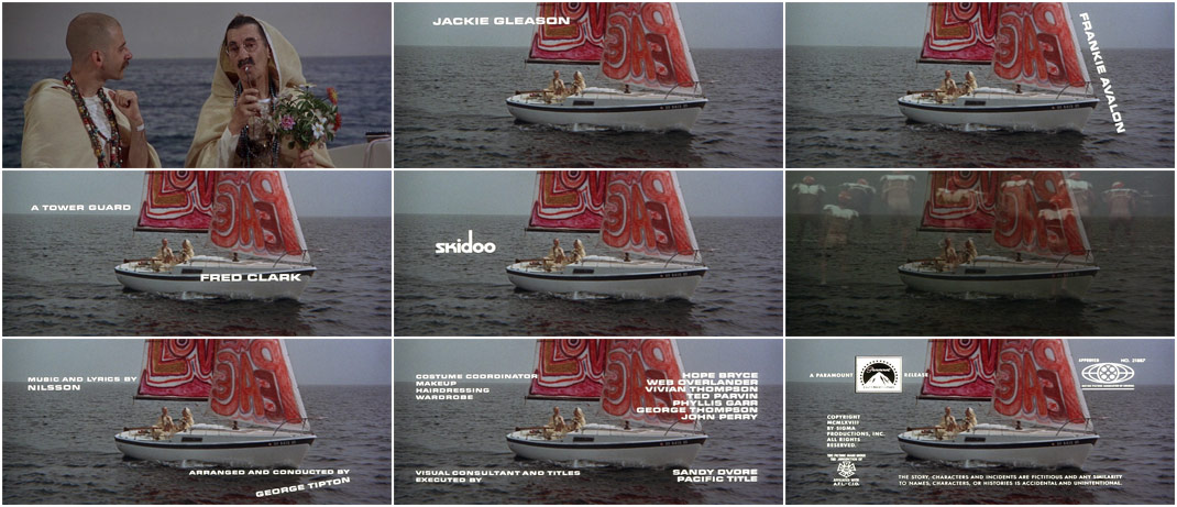 VIDEO: Title Sequence – Skidoo end title sequence