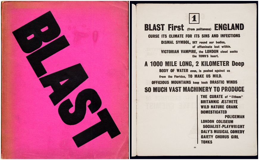 IMAGE: BLAST magazine - cover and page
