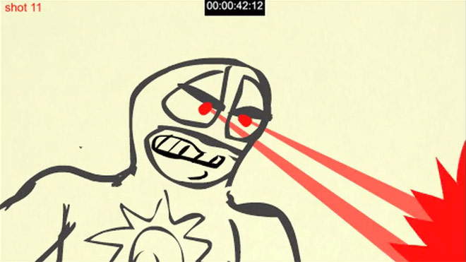 Original Flash-based animatic