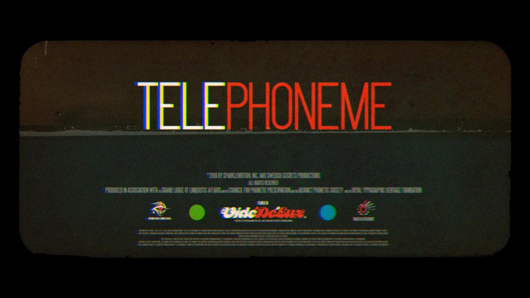 """""""TELEPHONEME"""" short film"""